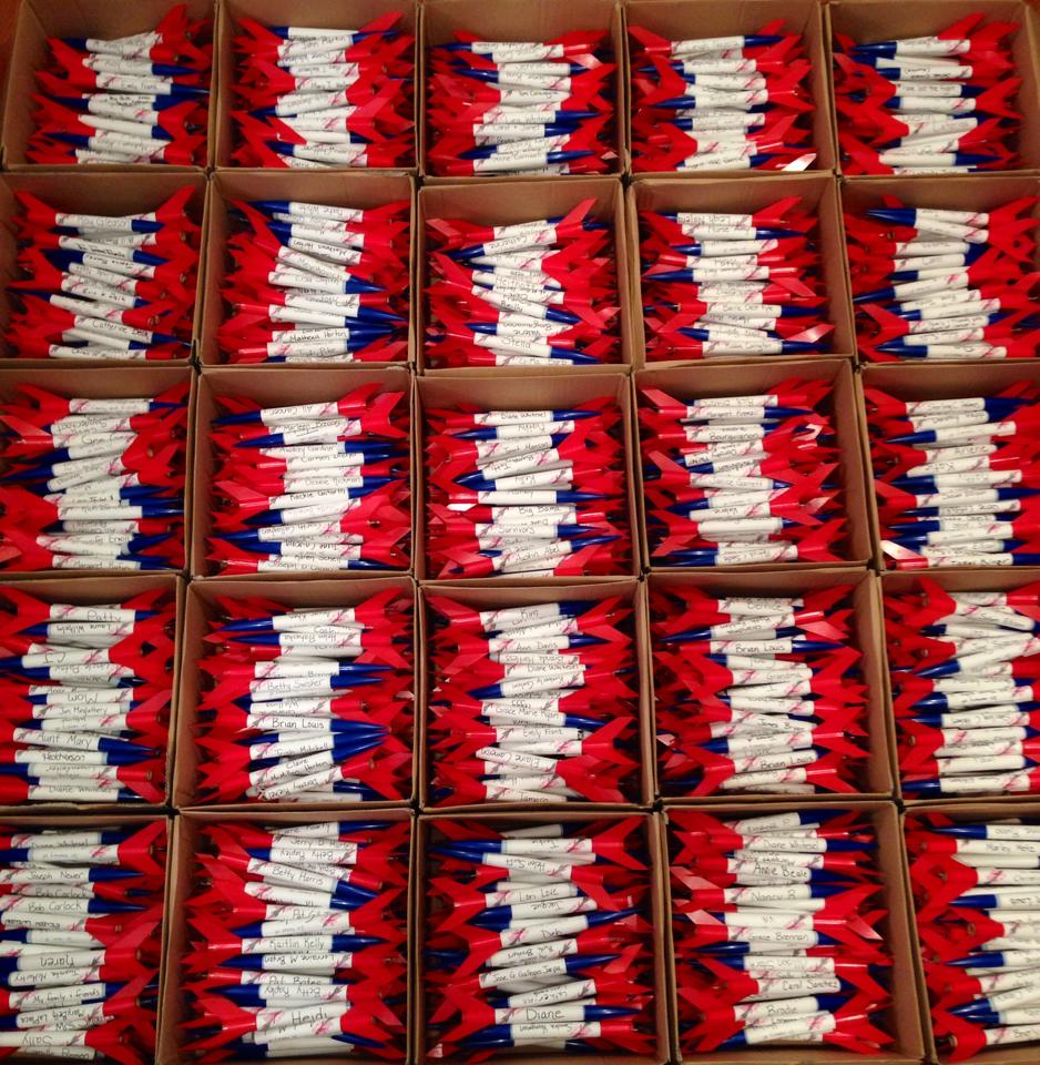 About 1000 Rockets Ready To Go