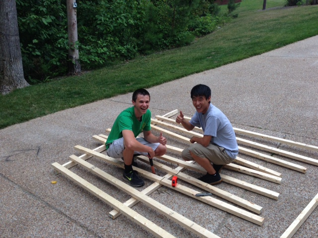 Sanzio And Dylan Building 1 Launch Pad